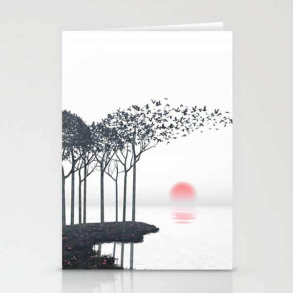 Picture of Decorative Modern Card