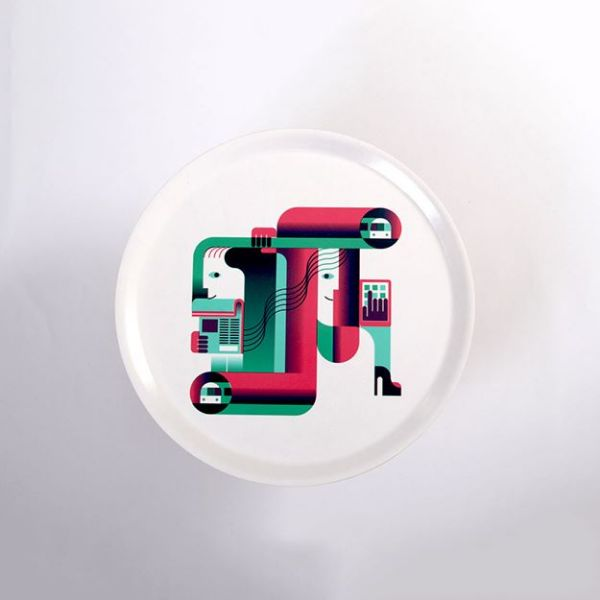 Picture of Stylish Designer Plate